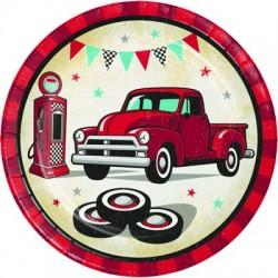 Piatti 23 cm Vintage Auto...