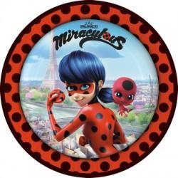 8 Piatti Ladybug 23 cm