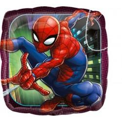 Mylar Quadrato Spiderman...
