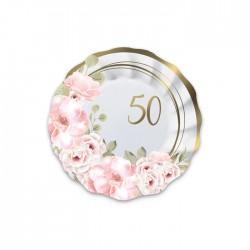 8 Piatti 50°Anniversario...