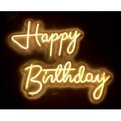 Scritta Led Happy Birthday