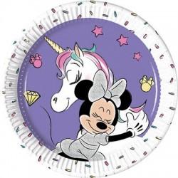 Piatti Minnie Unicorno