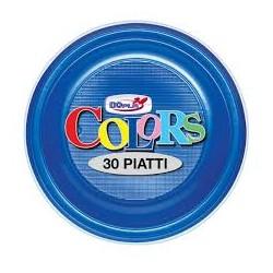 Piatti Piani Blu 30 pz