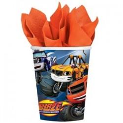 8 Bicchieri di carta Blaze