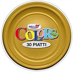 Piatti Piani Oro 30 pz