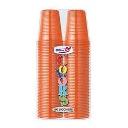 Bicchieri 200 ml Arancio...