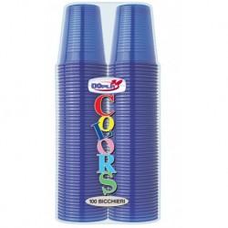 Bicchieri 200 ml Blu 100 pz
