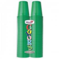 Bicchieri 200 ml Verdi100pz