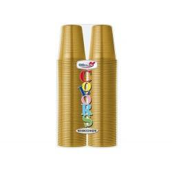 Bicchieri 200 ml Oro 100pz