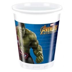 8 Bicchieri Avengers