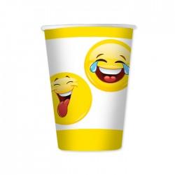 Bicchieri Emoticons Smile