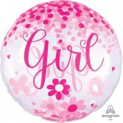 """Pallone foil Girl 28""""..."""