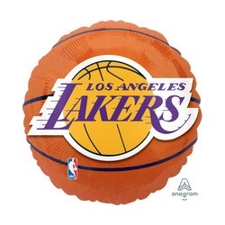Pallone Foil Basket NBA Lakers
