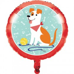 Pallone Foil Dog Party