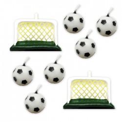 6 Candeline Palloni Calcio...