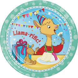Piatti Llama Party