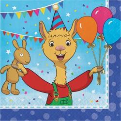 Tovaglioli Llama Party