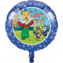Pallone foil Llama Party
