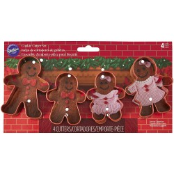 GINGERBREAD FAMILY COOKIE...