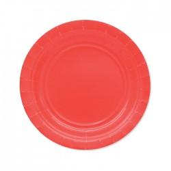 Piatti di carta 18 cm Rosso...