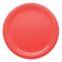 Piatti di carta 24 cm Rosso...