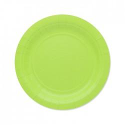Piatti di carta 18 cm Verde...