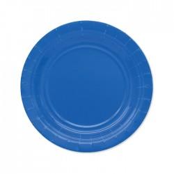 Piatti di carta 18 cm Blu...