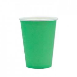 Bicchieri di carta Verde 25...