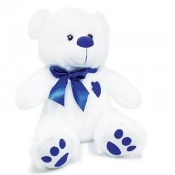 Peluche Orso Love Blu 66 cm