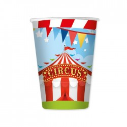 Bicchieri di carta Circo Party