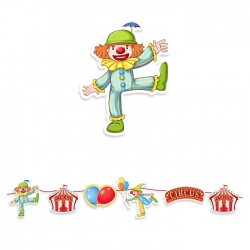 Festone Circo Party 600x25 cm