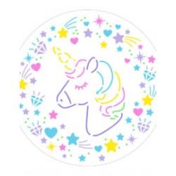Stencil unicorno Decora