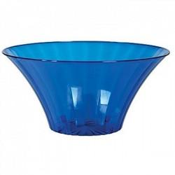 Contenitore Blu in pvc svasato