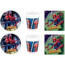 Spiderman Kit Base Festa...