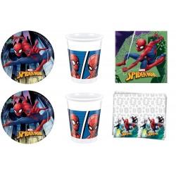 Spiderman Kit con Tovaglia...