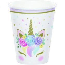 Bicchieri di carta Unicorno
