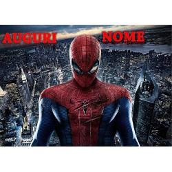 Cialda per torta Spider-man...