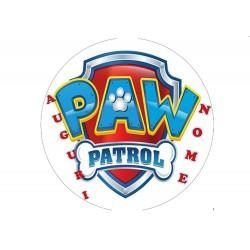 Cialda per torta Paw Patrol...