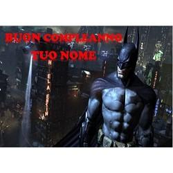 Cialda per torta Batman...