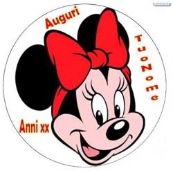 Cialda per torta Minnie...