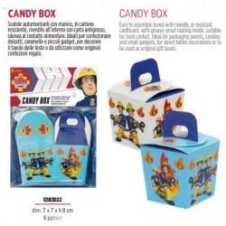 6 CANDY BOX SAM Il Pompiere...