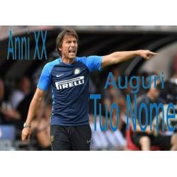 Cialda per torta Inter -...