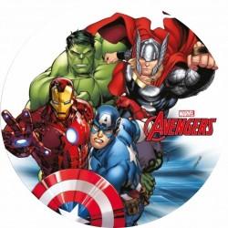 Cialda per torta Avengers-...