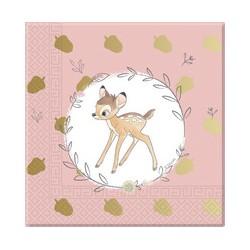Tovaglioli Bambi 33x33 cm