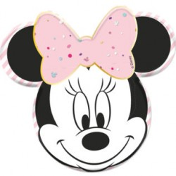 Piatti Sagomati Minnie da...