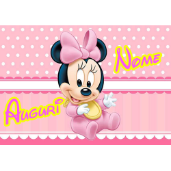 MINNIE BABY POSTER FONDALE...