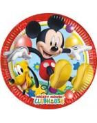 Coordinato festa topolino, articoli festa topolino, piatti topolino