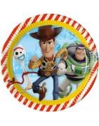 Coordinato festa toy story, articoli festa toy story, piatti toy story