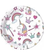 ARTICOLI FESTA TEMA Unicorn Magic Party,ARTICOLI ADDOBBO TAVOLA Unicor