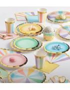 articoli per festa monocolore,piatti monocolore,bicchieri monocolore